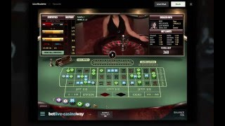 £500 Live Roulette session - BIG WIN!!!