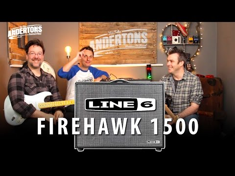 Line 6 Firehawk 1500 - A 1500w Guitar Amp - WTF??!!