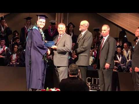 Will Hudson Tri City Christian School Graduation Class of 2017