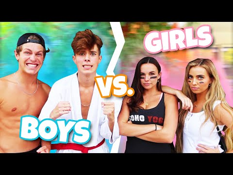 BOYS VS. GIRLS ULTIMATE FACEOFF!!