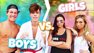 BOYS VS. GIRLS ULTIMATE FACEOFF!!