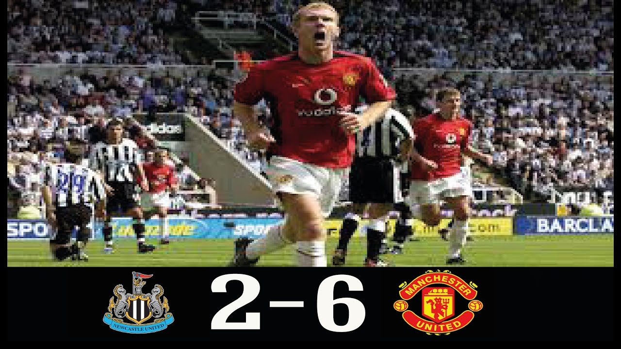 Download Newcastle United 2-6 Manchester United 2002/2003 PL ● Paul Scholes Hat-Trick ● Classic Match