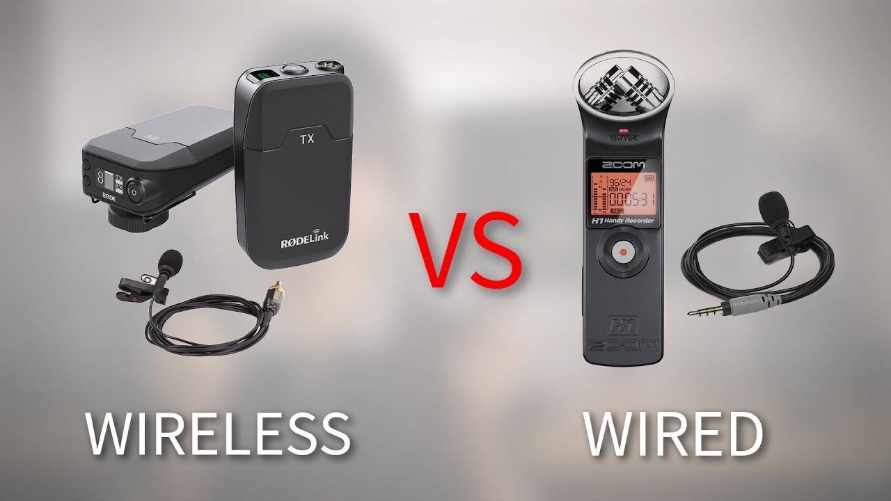 Wireless Lavalier vs Lav Wired into Recorder - 5 Differences - YouTube
