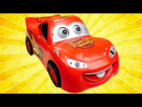 Disney cars jugando con rayo mcqueen juguetes para ni os youtube - Juguetes de cars disney ...