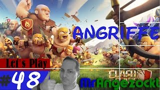 Let's Play Clash of Clans #48 - Angriffe der Clan-Member [Android, HD+, deutsch]