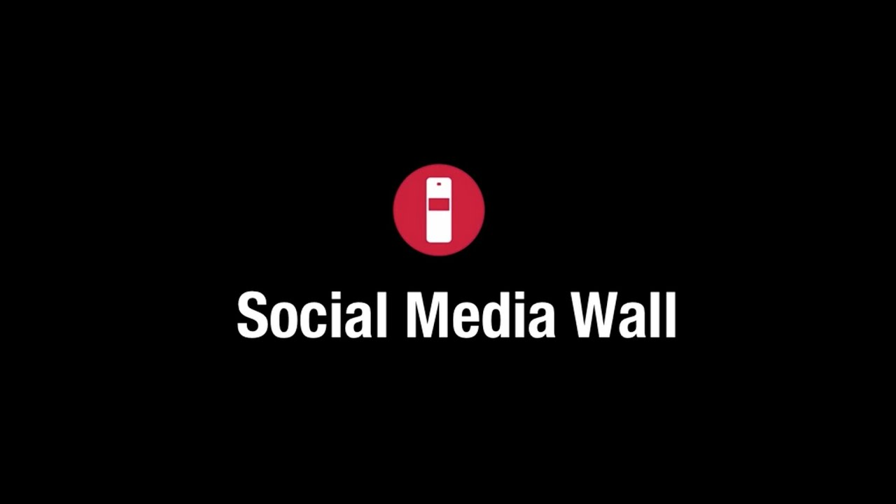 social media wall printer by studio 94 youtube. Black Bedroom Furniture Sets. Home Design Ideas