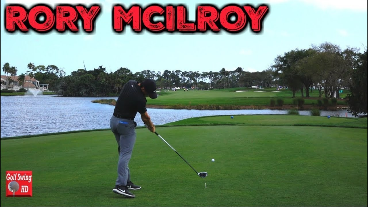 2018 Rory Mcilroy Dtl Slow Motion Driver Golf Swing 1080 Hd