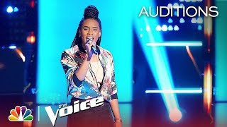 """Kennedy Holmes' Cover of Adele's """"Turning Tables"""" Gets FOUR TURNS - The Voice 2018 Blind Auditions"""