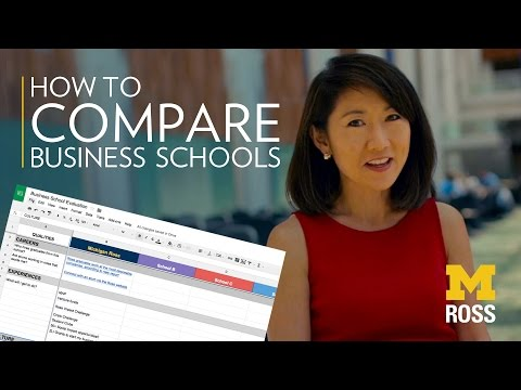 how-to-compare-business-schools