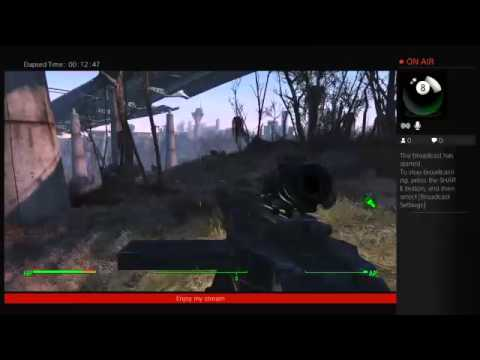Fallout 4 (Survival) Overpass investigation live stream