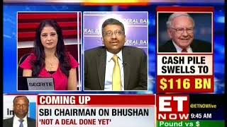 Watch Mr. Ganesh Sanakaran, Executive Director Federal Bank on ET Now