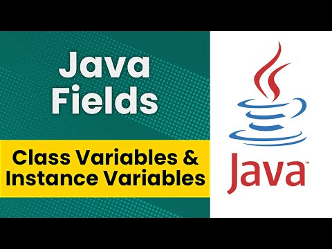 Java Fields (Class Variables & Instance Variables)