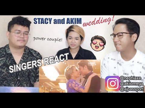 Stacy and Akim Wedding - Bila Bila | REACTION