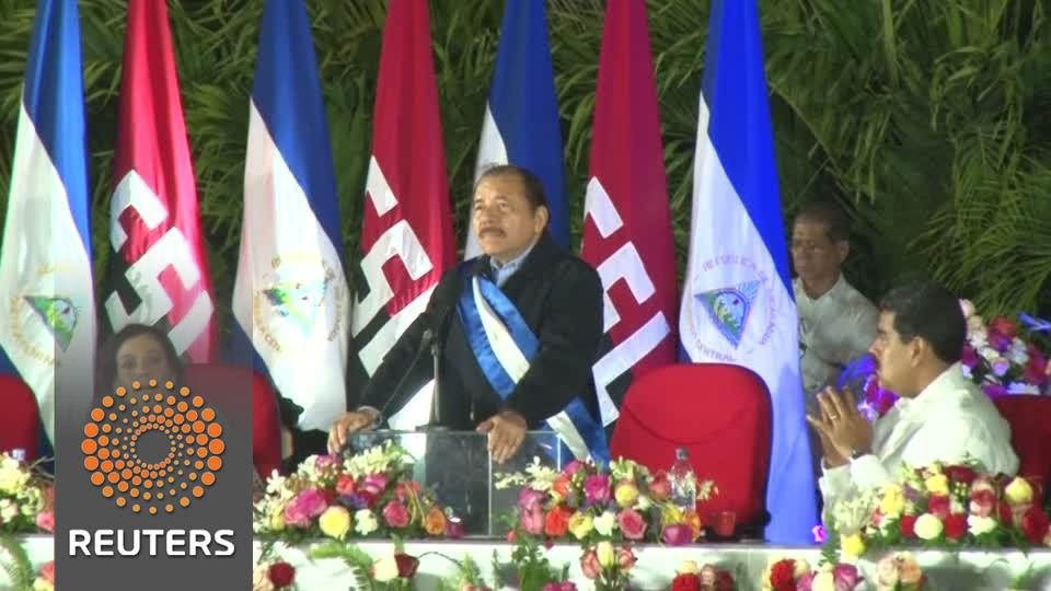 Nicaragua's Ortega sworn in for third term
