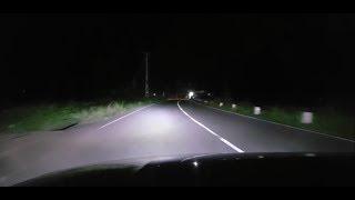 Super Bright LED H4 Headlights : 16,000 Lumens Video
