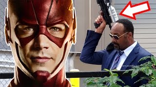 *SPOILER* Returns! LEAKED Set Photos Breakdown! - The Flash Season 4