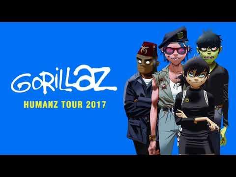 GORILLAZ Live @ Arena Geneva 2017 (Full Audio) + download link
