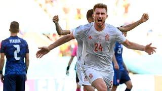 Slovacchia Spagna 0-5   EURO2020