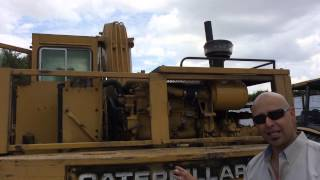 Caterpillar 215 review and walk around 750