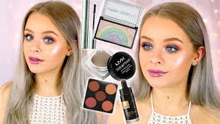 FULL FACE FIRST IMPRESSIONS!! NEW MAKEUP!! | sophdoesnails
