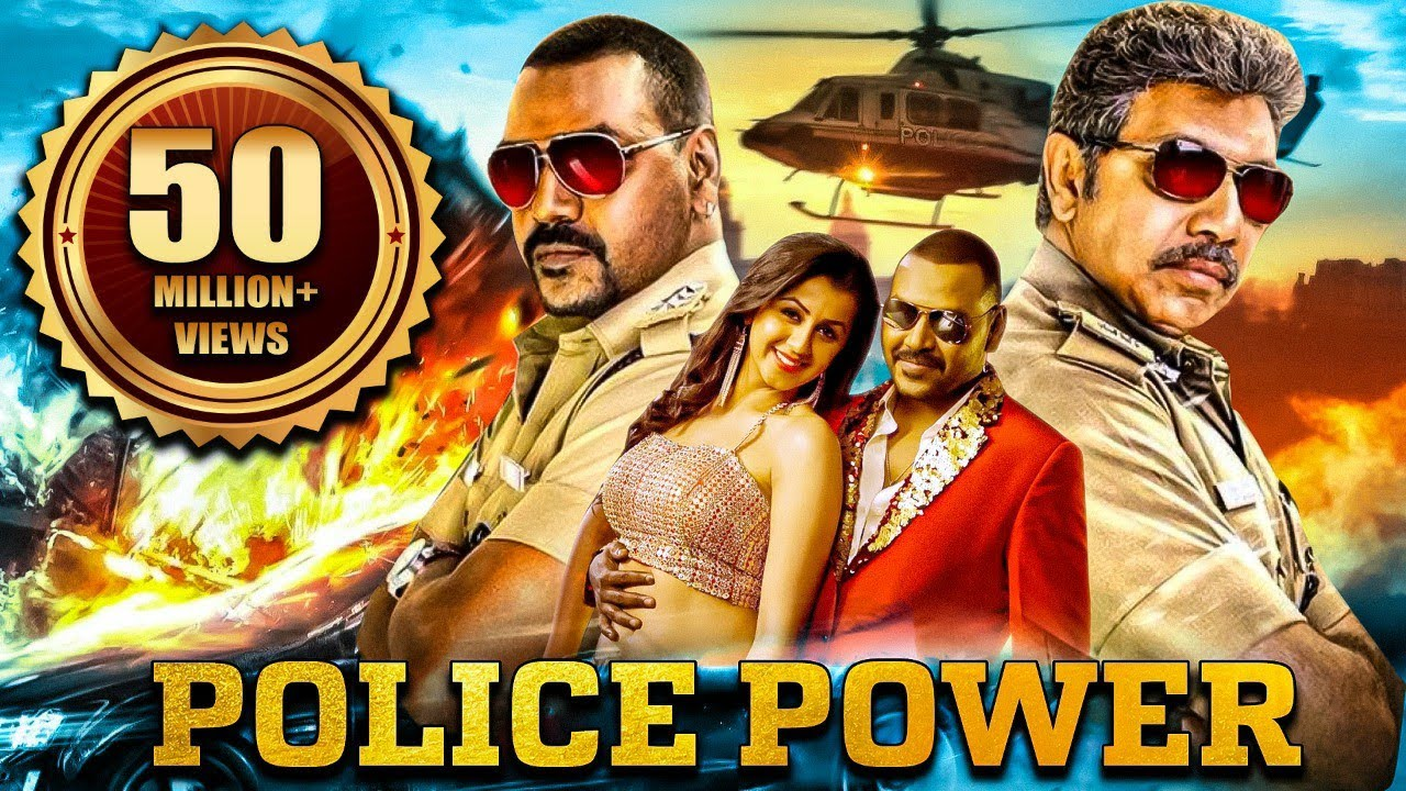 Download Police Power Full South Indian Hindi Dubbed Action Movie |Raghava Lawrence Tamil Hindi Dubbed Movies