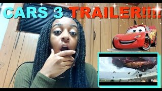 CARS 3 Trailer (2017) Reaction!!!