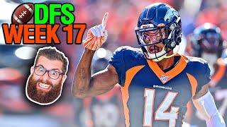 NFL DFS Picks Week 17 (2019)