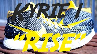 "Nike Kyrie 1 ""Rise"" // Detailed Shots & On Foot //"