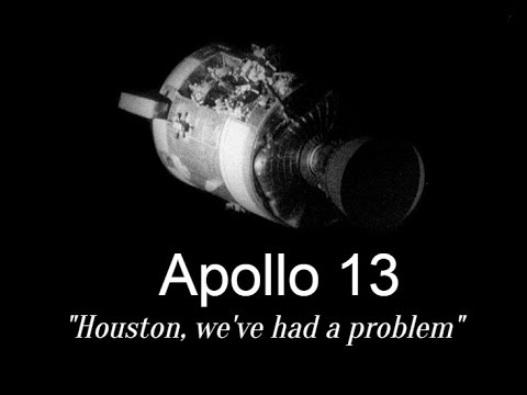 "Apollo 13- ""Houston, we've had a problem"" - YouTube"