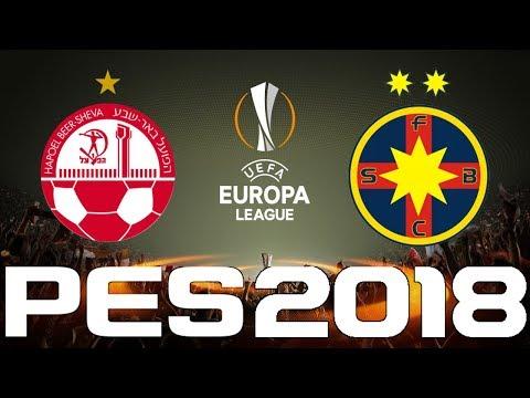 UEFA Europa League - PES 2018 - HAPOEL BEER-SHEVA vs STEAUA BUCURESTI