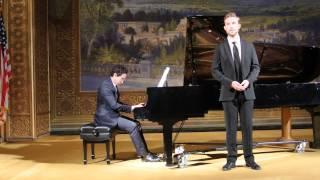 """Schubert - """"Liebesbotschaft"""" (James Onstad, tenor)"""