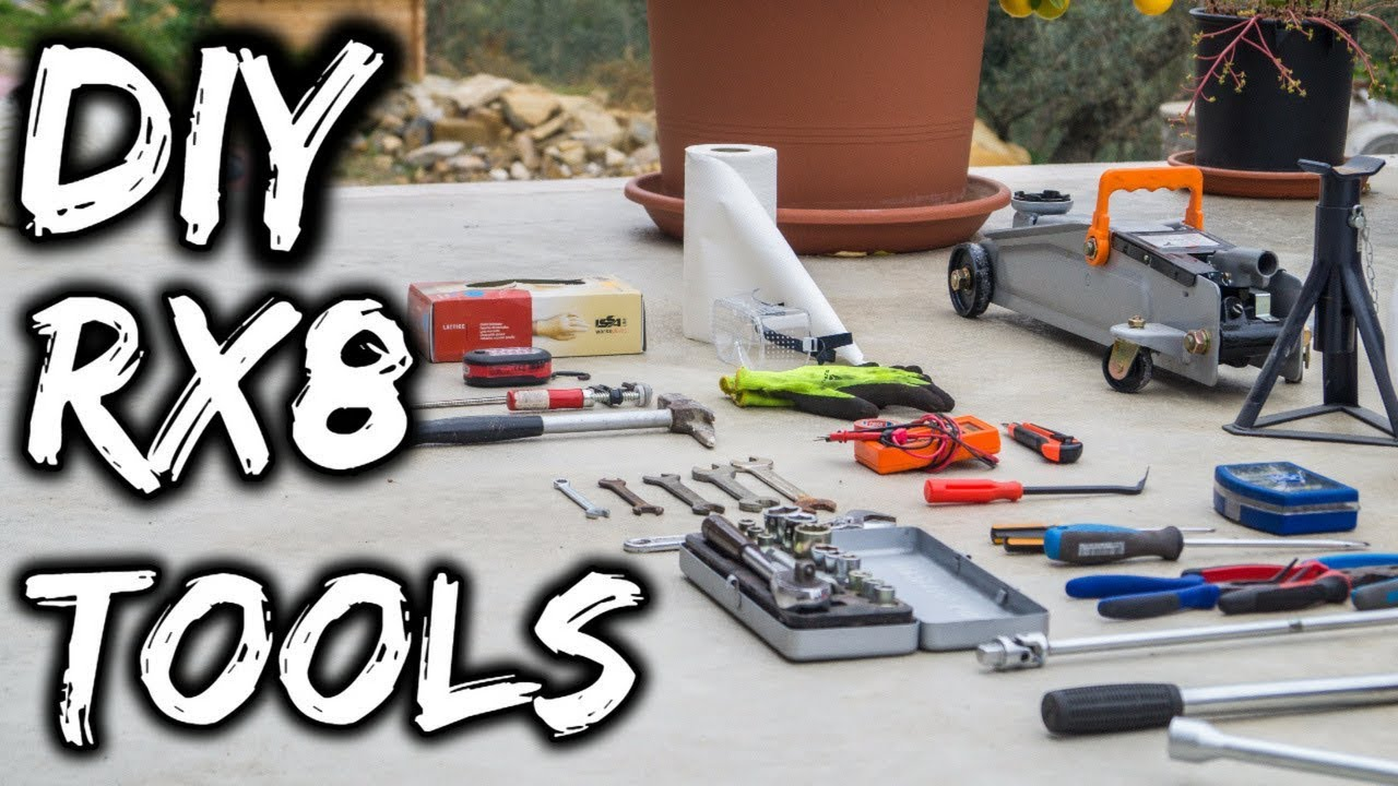 Tools You Must Have To Work On Your Mazda Rx8 Best Car Tools For Beginners