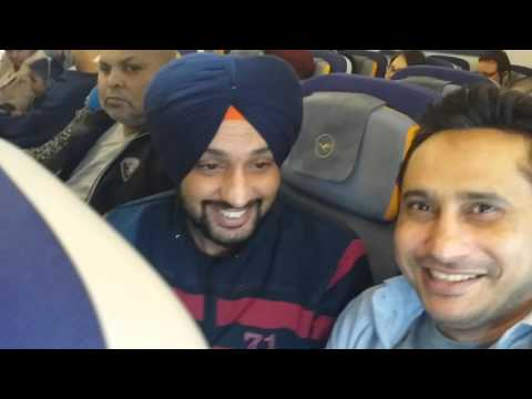 Travel with Lufthansa Germani To Delhi ( INDIA )