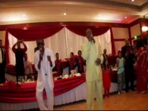 "K-Ci and JoJo Perform ""All My Life"" Live for First Dance at Wedding (Southern California)"