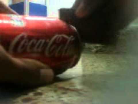 Como quitarle la tapa a una lata de coca cola youtube - Quitar oxido coca cola ...