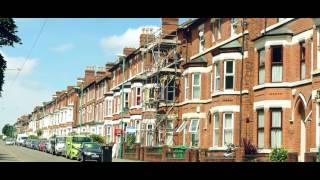 City of Nottingham in summer