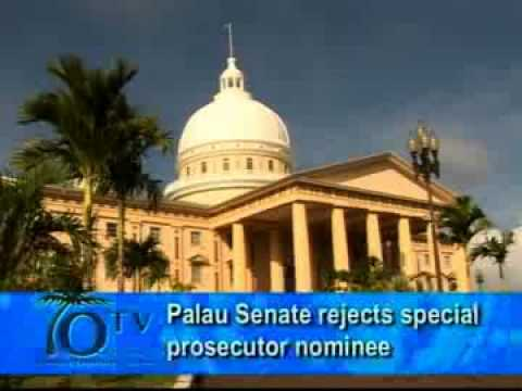 Palau Senate Rejects Special Prosecutor Nominee