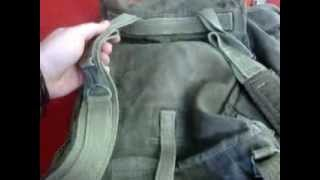 """Wymiana szelek w plecaku typu """"kostka"""""""