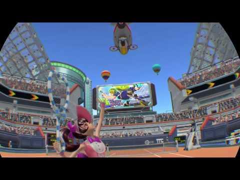 【PS4PRO】【PSVR】VR Tennis Online をプレイ