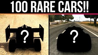 100 RARE CARS Found In Racing Games!!!