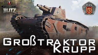 Обзор Großtraktor - Krupp! [World of Tanks Blitz]