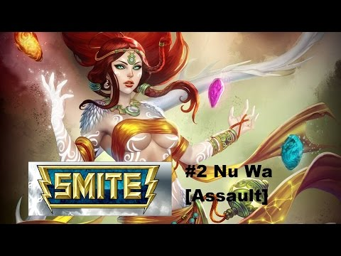 видео: smite по русски - #2 nu wa [assault]