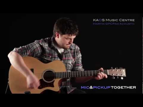 KAOS Gear Demo - Martin Performing Artist GPCPA4