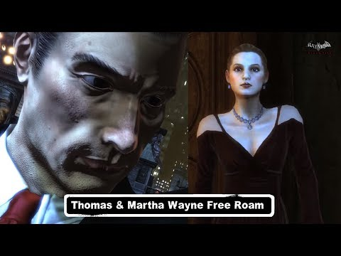 MESH; Batman; Arkham City; Thomas & Martha Wayne Free Roam