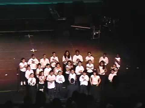 School #5 Choir in McDonald's Gospel Fest 2002