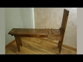 Easel bench / Art Horses making part 1 from 2