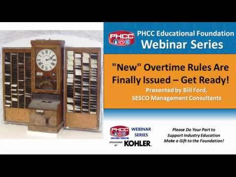 New Overtime Rules Have Been Issued - Get Ready!