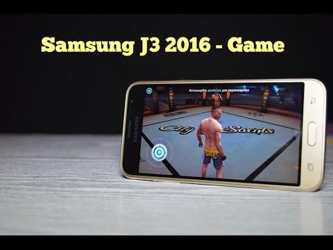 Samsung Galaxy J3 SM-J320H - производительность в играх