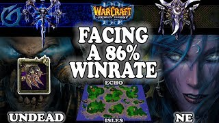 Grubby | Warcraft 3 TFT | 1.30 | UD v NE on Echo Isles - Facing a 86% Winrate
