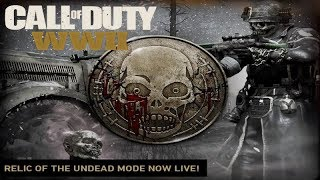 NEW RELIC OF THE UNDEAD GAME MODE IN CALL OF DUTY: WWII-ATTACK OF THE UNDEAD EVENT